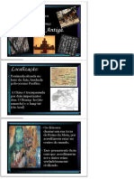 História. Profº Diego. a China Antiga. - PDF