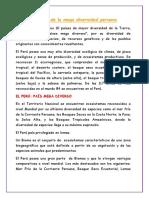 Factores de La Mega Diversidad Peruana (2)