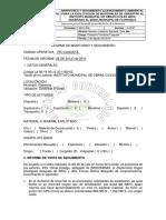 Informe de Monitoreo y Seguimiento 2010 Mina Dedo