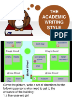 8.the Academic Writing Style