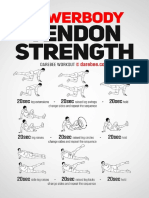 Lowerbody Tendon Strength Workout