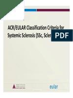 SSc Class Criteria Slides