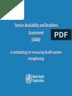 SARA OverviewPresentation