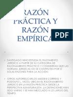 Razón Práctica y Razón Empírica
