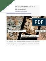 LOS 5 LIBROS mas PROHIBIDOS de la historia de la HUMANIDAD.docx