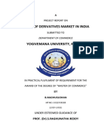 Derivatives Market in India 1234