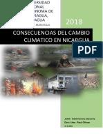 Cambio Climatico en Nicaragua