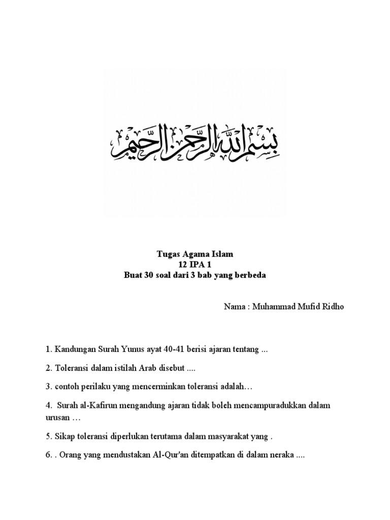 Tugas Agama Islamdocx