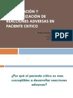 Identificacion y Caracterizacion de Rams en Pacientes Criticos