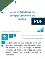 Presentación_M1T2_Modelos de Comportamiento de Suelos