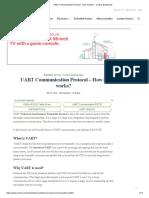 UART Communication Protocol - How It Works_ - Codrey Electronics