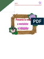 Cap.presarea La Rece a Metalelor