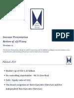 JKH2019Q1 Investor Presentation