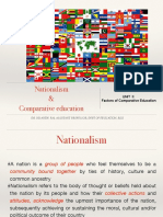 Nationalism and Comparative Education