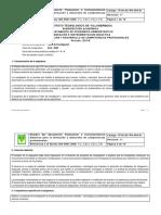 Planeación e Instrumentacion Didactica 2017-B - Taller de Inv I