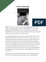 Soeharto Biography