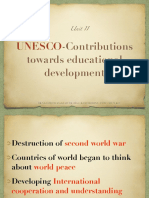 UNESCO and Comparative Education