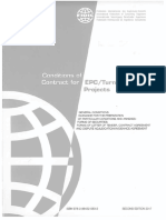 FIDIC Silver Book - Conditions of Contract for EPC Turnkey Projects (2nd Edition 2017)