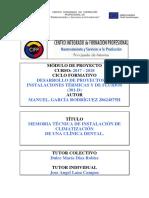 Memoria Técnica de Instalación de Climatización de Clínica Dental_ima301d