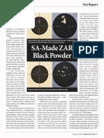 SA Made ZAR Black Powder