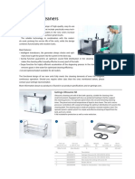 Ultrasonic Cleaner Brochure