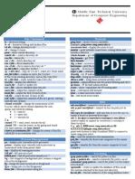 Linux Cheat Sheet