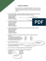 Dispositif Questionnaire Peugeot
