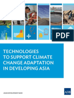 Technologies Climate Change Adaptation