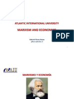 Marxismo y Economía