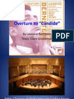 Mus 344 Overture to Candide