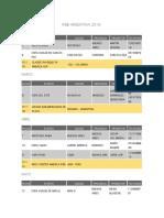 Calendario IFBB-Argentina 2019