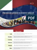 Program Ann2018 19