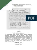 A Corografia de Frei Manuel de Figueiredo