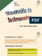 Elaboracion de Instrumentos