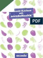 Gesund Kochen mit accedo health