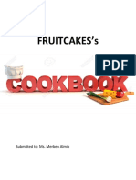 Fruitcakes Cookbook
