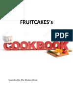Fruitcakes Cookbook