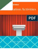 Presentation Activities Packet-1iiyd5m