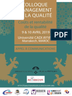Colloque management de la qualité