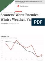 Scooters' Worst Enemies