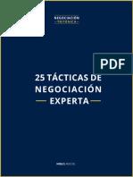 25TacticasdeNegociacionExperta