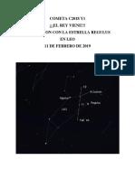 Cometa c2018 y1