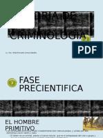 Historia de La Criminología