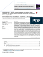 Biomonitoring of Humans Exposed to Arsenic, Chromium, Nickel, Vanadium, And Complex Mixtures of Metals by Using the Micronucleus Test in Lymphocytes