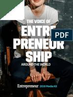 Entrepreneur 2018 MediaKit