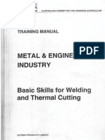 Basic Skills for Welding and Thermal Cutting