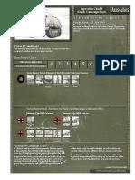 Operation Citadel Kursk Campaign Sheet