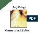 Balogh Mary - Newbury 02 - Momentos Inolvidables