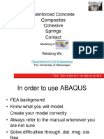 Advanced Topics in ABAQUS Simulation-1