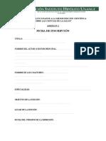 Ficha de Mejor Edición Científica